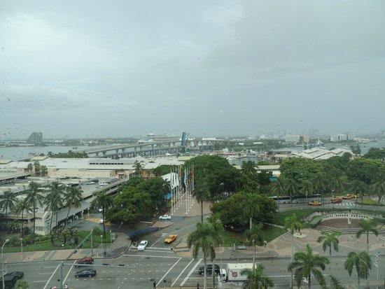Holiday Inn Port of Miami Downtown: Vista do quarto