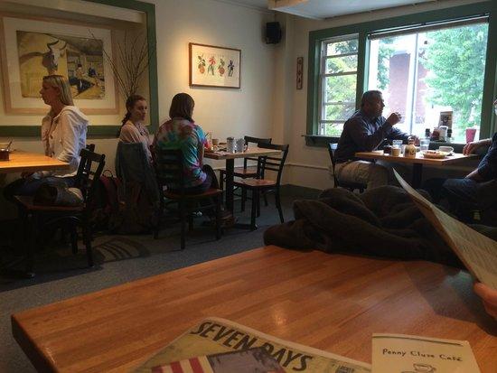 Penny Cluse Cafe: Upstirs
