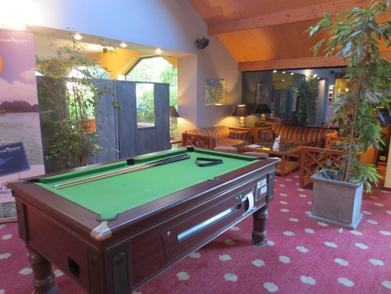Hotel Mercure Lisieux : Relaxing area