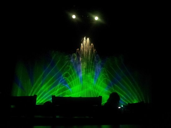 water show Picture of Splash at Jordan s Furniture