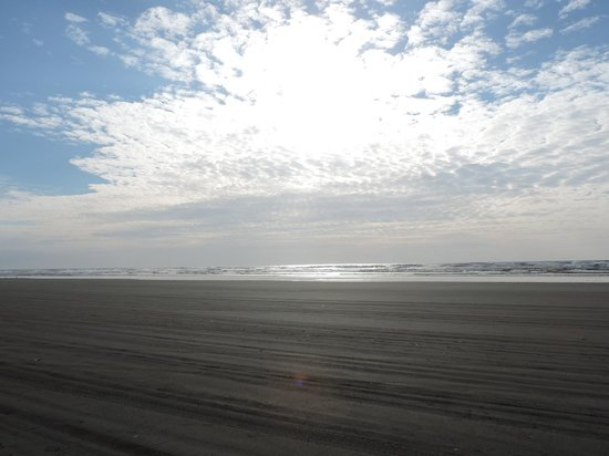Quinault Beach Resort and Casino: the nearby beach