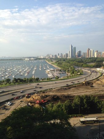 Manilow Suites At North Harbor Tower: The view from the 15th Floor