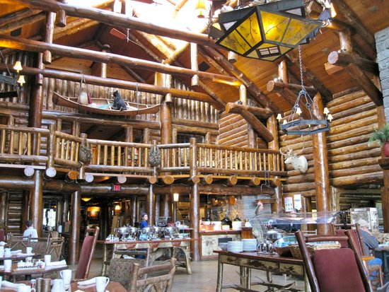 The Whiteface Lodge: The Main Dining Room