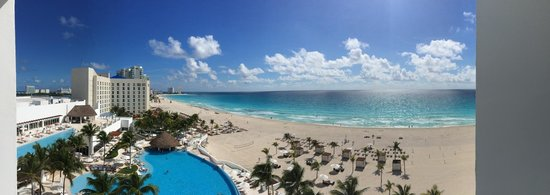 Le Blanc Spa Resort: View from room 706