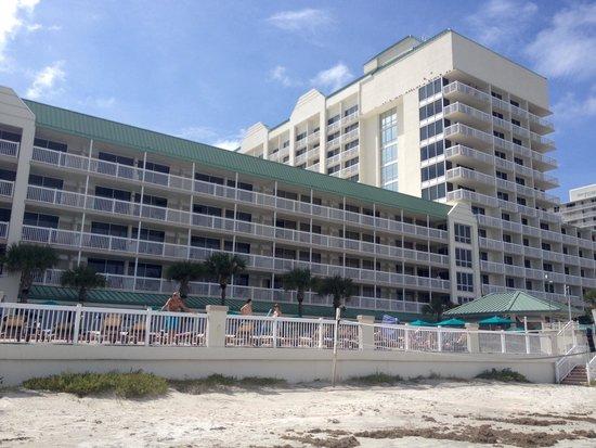 Daytona Beach Resort and Conference Center : Great beach