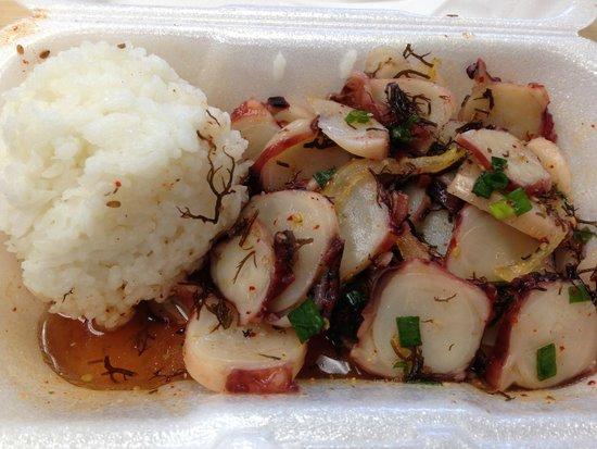 Fresh Catch: taco poke with rice