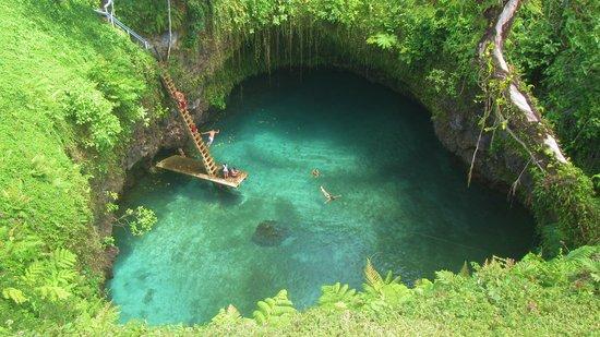 Lalomanu, Samoa: ecco la famosa grotta