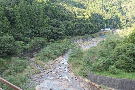 Mukaidaki Ryokan: 部屋から見る景色