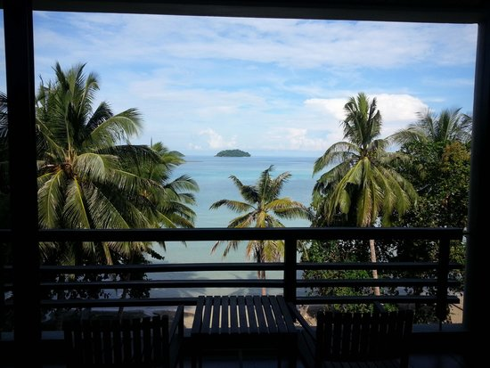 Sea View Resort & Spa Koh Chang: view from balcony