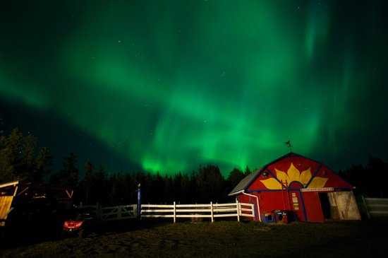 Hidden Valley Bed and Breakfast: Northen Lights