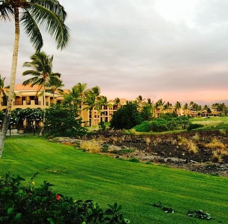 The Bay Club at Waikoloa Beach Resort: View from our lanai