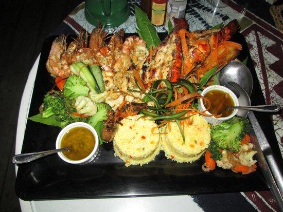 Dugong Beach Lodge : Amazing food