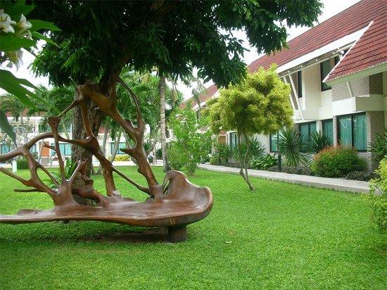 Hotel Tropicana: Hotel Garden