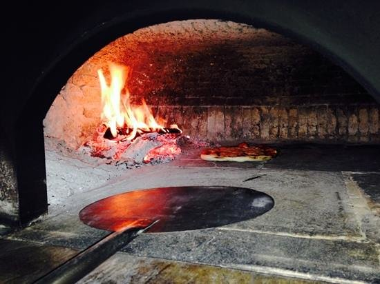 Open Gate: Wood fire pizza oven