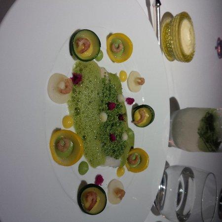 Quisine by Guy Savoy: John Dory main course