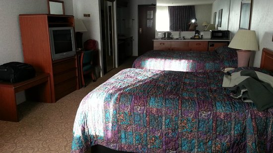 Shilo Inn Suites Hotel - Klamath Falls: Two Queen Bed Mini-Suite