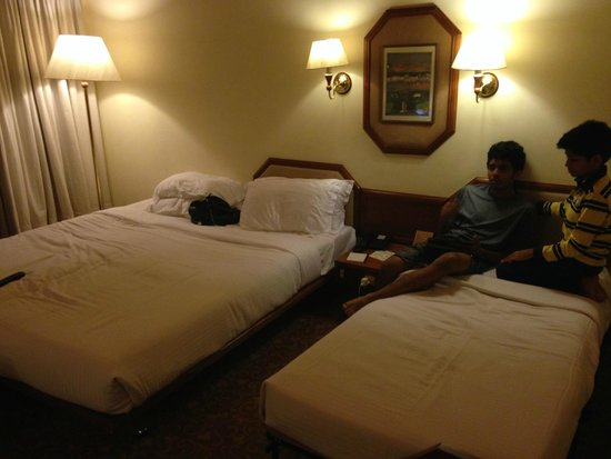 Casino Hotel: The room with One double bed and extra bed No 1