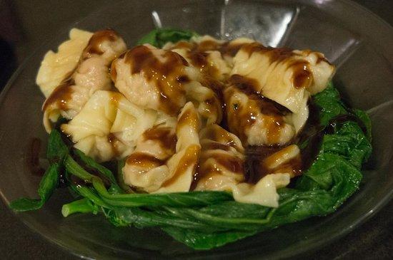 Big Wong King: Pork and shrimp dumplings