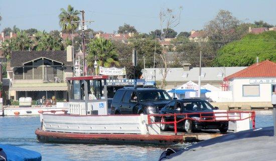 Balboa Island Ferry : Balboa Island Auto Ferry, Newport Beach, Ca