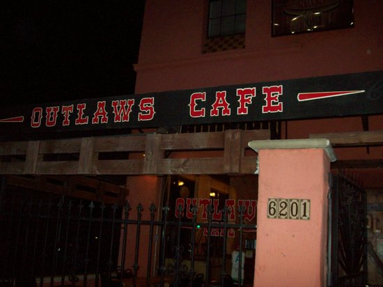 Photo of American Restaurant Outlaws Cafe at 6201 Van Nuys Blvd, Los Angeles, CA 91401, United States
