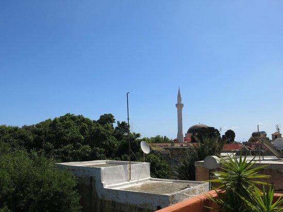 Sofia Pension : 在天台可飽覽古城景色