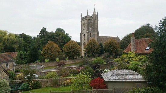 The George at Nunney: View from room 10.