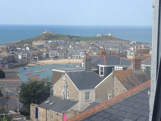 3 Porthminster: View from our window