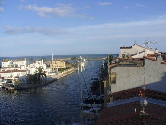 Apartamentos Pierre & Vacances Empuriabrava Marina: vue du toit
