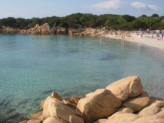 Arzachena, Italien: spiaggia capriccioli
