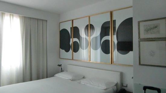 Hotel Pulitzer Roma : Bett