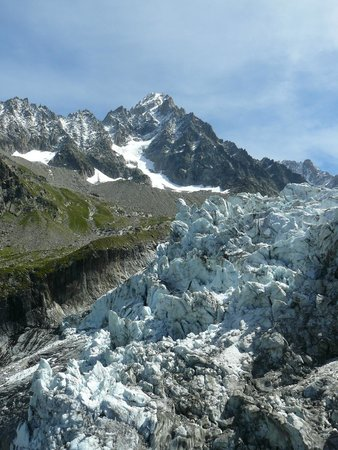 Telepherique des Grands Montets : Glacier d'Argentière