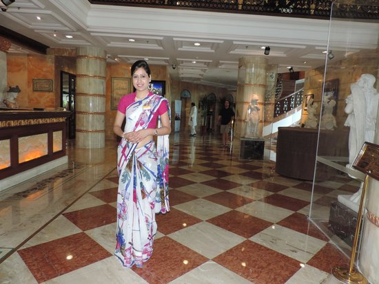 Hotel The Royal Plaza: helpful Anjali