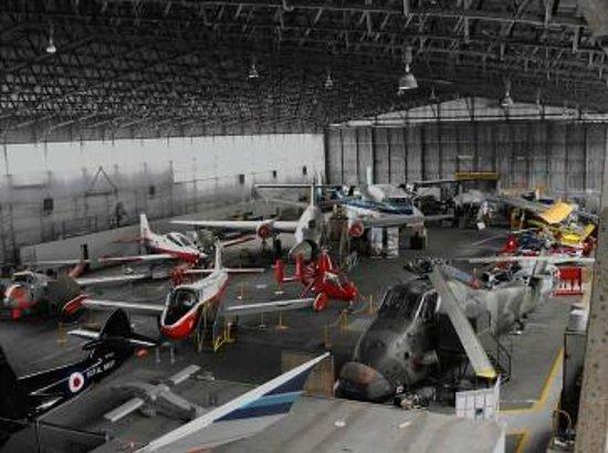 Lisburn, UK: Wide range of aircraft on display