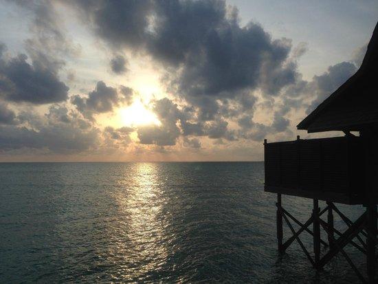 Sipadan Kapalai Dive Resort: Sunset view