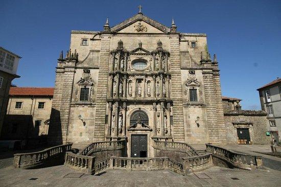 Monasterio de San Martín Pinario: Facade