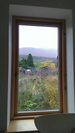 Cherryhill Lodge: View from the breakfast table