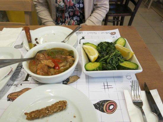 Agora 1866: 克里特島傳統菜