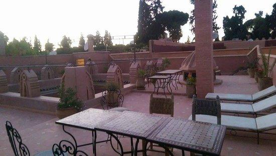 Riad Sidi Omar: Roof terrace