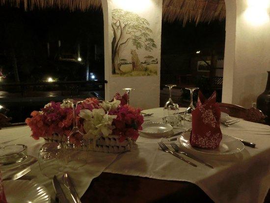 Bushbaby Resort - Malindi: restaurant