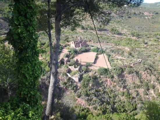 Desierto de las Palmas: Desde la terraza