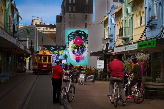 Christchurch Bike & WalkingTours: New Regent Street
