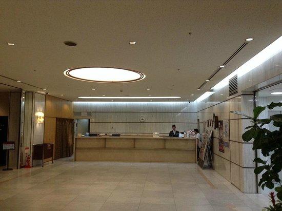 Hearton Hotel Shinsaibashi : ล็อบบี้ดูกว้างขวาง