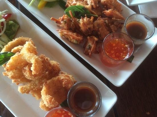 Fisherman's Restaurant & Bar: Tempura squid & Prawns no name
