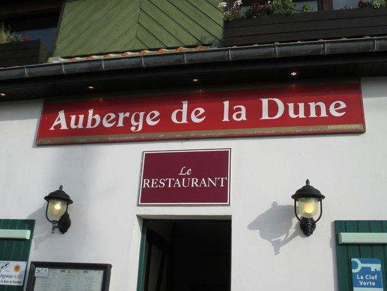 Logis Auberge de la Dune : ingang hotel