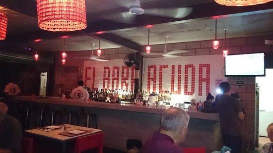 El Barracuda: The Bar Area