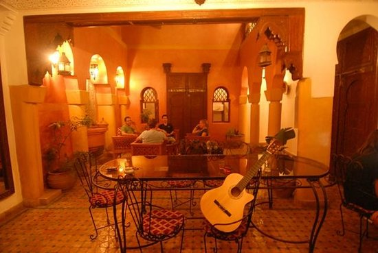 Riad Massin: patio