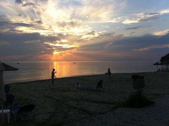 By the Sea: Закат в Сивири