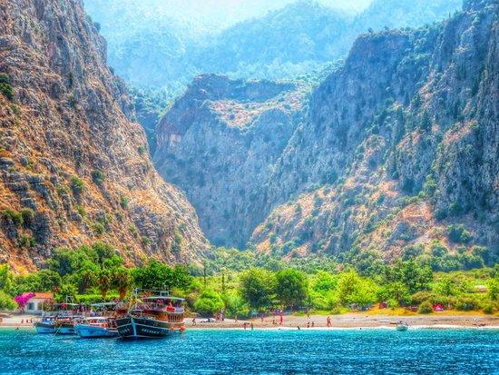 Gocek Lila Boat: Butterfly Valley