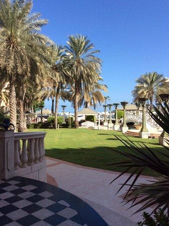 Grand Hyatt Muscat : view from the Moca restaurant