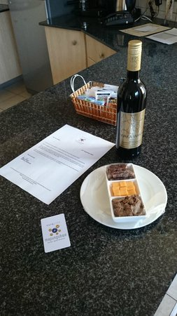 Faircity Mapungubwe Hotel Apartments: Welcoming nibbles...